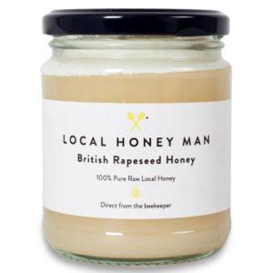 rapeseed raw honey