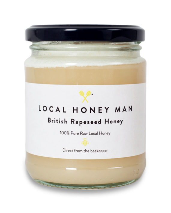 rapeseed raw honey