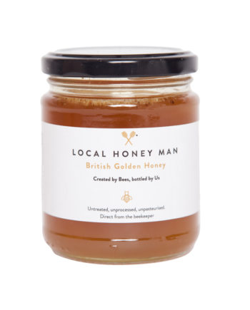 British Golden Raw Honey