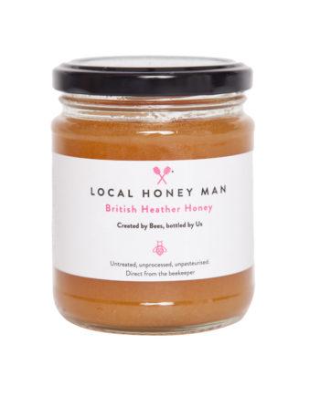 British Heather Raw Honey