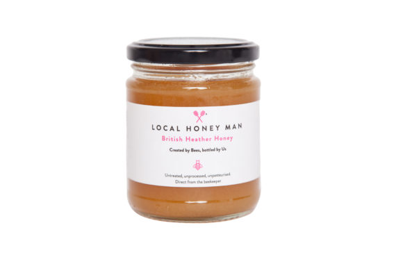 British Heather Raw Honey