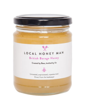 British Borage Raw Honey