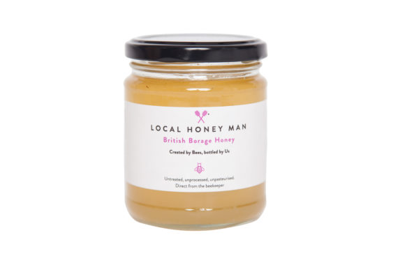 British Borage Raw Honey