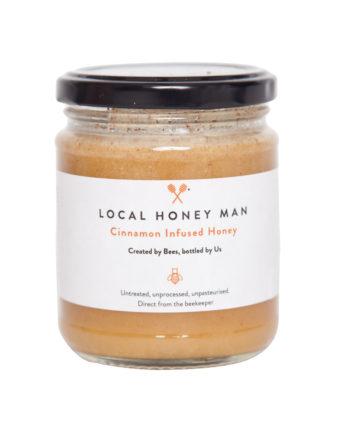 Cinnamon Infused Raw Honey