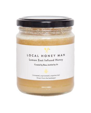 Lemon Zest Infused Raw Honey