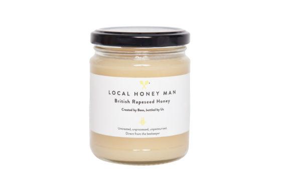 British Rapeseed Raw Honey