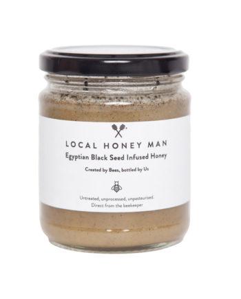 Egyptian Black Seed Infused Raw Honey