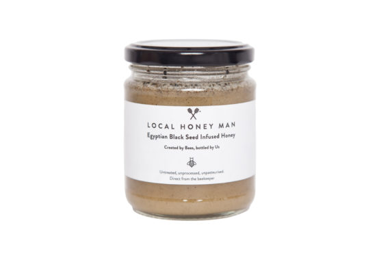 Egyptian Black Seed Infused Raw Honey
