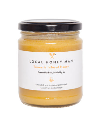 Turmeric Infused Raw Honey