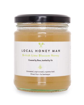 Lime Raw Honey