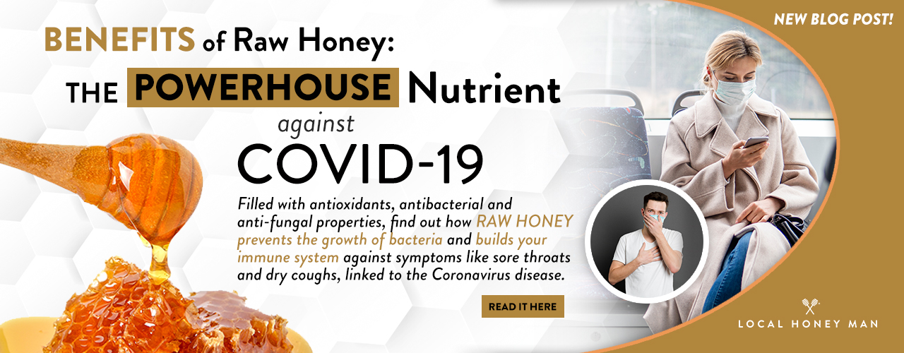 raw honey helps boost your immune system