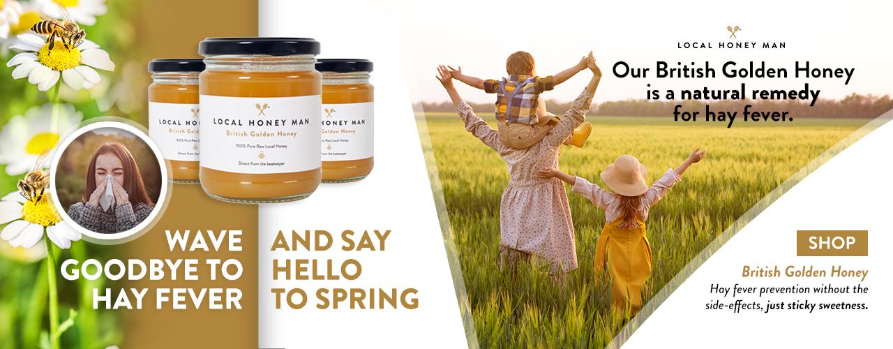 Local Honey for hayfever