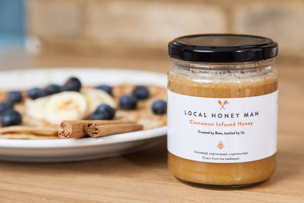 Cinnamon Raw Honey