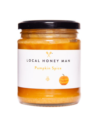 Pumpkin spice raw honey