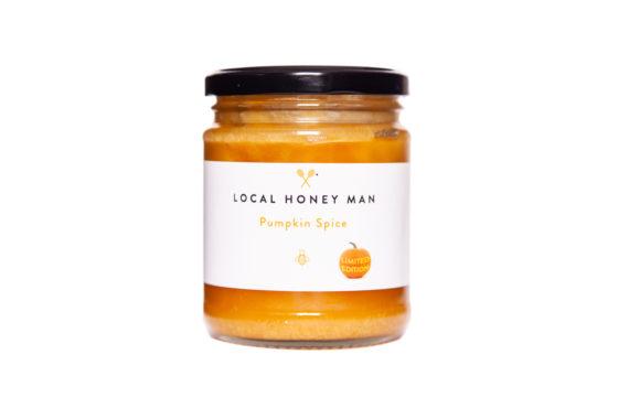 Pumpkin spice raw honey
