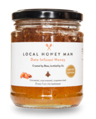 Date Infused Honey Front
