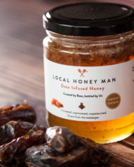 Date Infused Honey