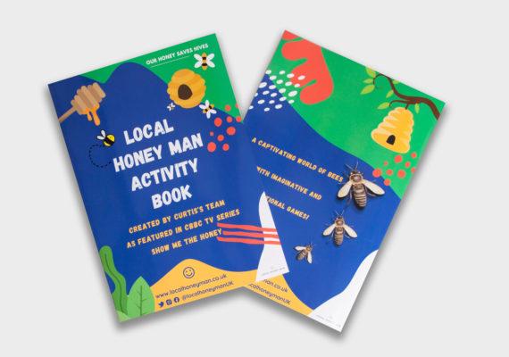 show me the honey activity book
